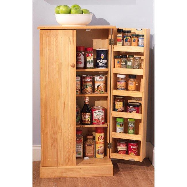 Wooden Kitchen Pantry Cabinet - Home Furniture Design
