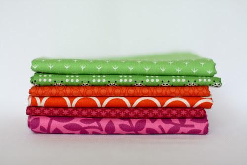 Green, Red-orange, Red-purple by jenib320