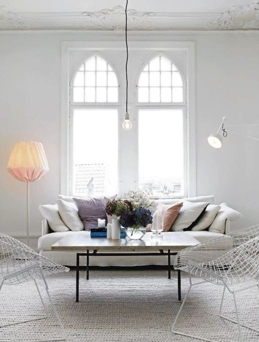 Le Fashion Blog A Fashionable Home Neutral Chic In Malmo Sweden Nina Bergsten Via Residence Living Room White Slipcover Sofa White Wire Mesh Chairs Woven Natural Rug Stone And Metal Coffee Table Cathedral Tall Windows Light Bright 8 photo Le-Fashion-Blog-A-Fashionable-Home-Neutral-Chic-In-Malmo-Sweden-Nina-Bergsten-Via-Residence-Livingroom-Sofa-8.jpg