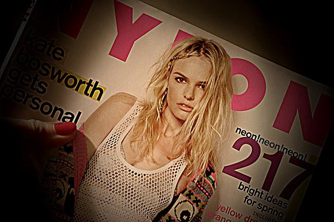 Nylon magazine, Kate Bosworth, Fashion