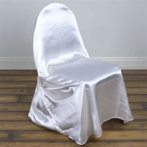 pcs satin universal chair covers wholesale wedding