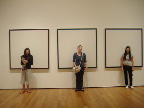 My sisters and I at MoMA by laurenarcher