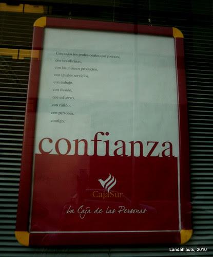 Confianza con fianza