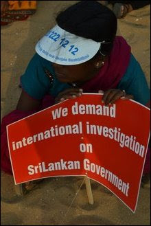 Candle vigil in Chennai