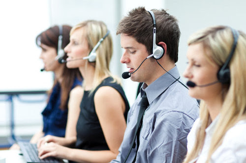 Call center outsourcing staff