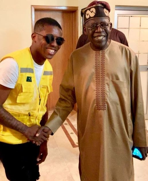 Small Doctor Looking Humble As He Poses With Bola Tinubu (Photo)