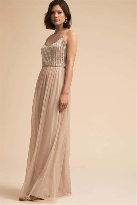 gold maxi dress  bridesmaids  wedding guests