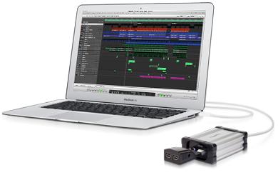 MacBook Air con Echo / 34 Adaptador Thunderbolt ExpressCard