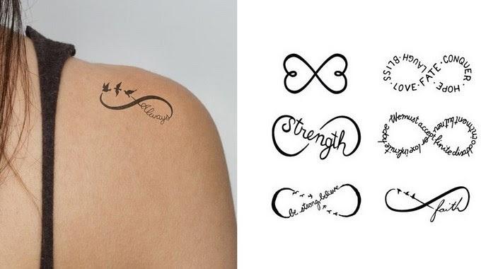 Tatuajes De Moda 2015 El Símbolo Infinito