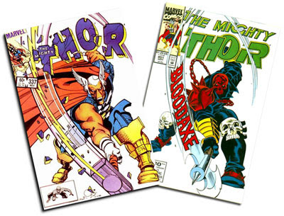 Thor #337 and #451
