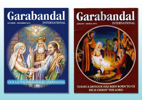 Oct - Dec 2012 & Jan-Mar 2013 Garabandal Magazines