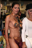 Adrianne Curry Dress as Princess Leia at the Comic Book Convention Photos