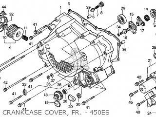 Honda Trx450es Fourtrax Foreman Es 1998 Usa parts list ...
