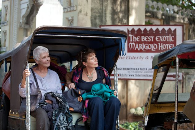 The Best Exotic Marigold Hotel Stills