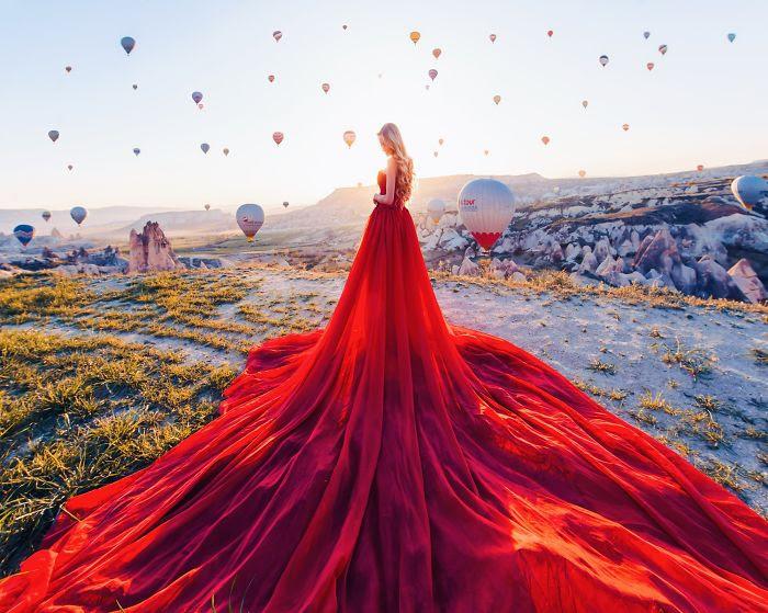 Capadocia, Turquía. Modelo: Maria