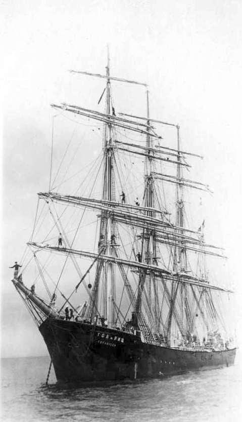 tovarisch model tall ship plans