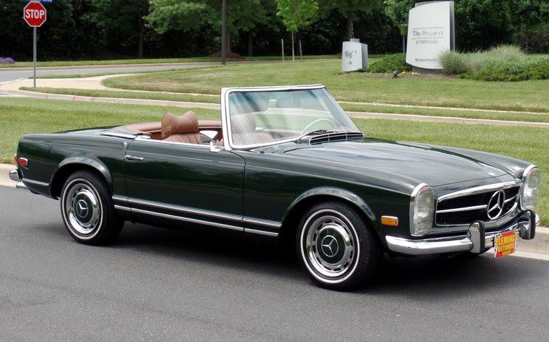1969 mercedes_benz 280sl | 1969 Mercedes Benz 280SL For ...