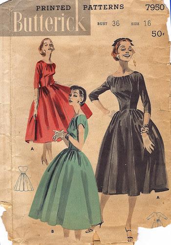 Vintage Butterick 7950