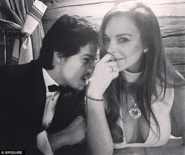 Mrs T!Lindsay Lohan is engaged. The 29-year-old Mean Girls vet has accepted a proposal from 22-year-old Russian heir Egor Tarabasov, according to a Tuesday report from TMZ; here they are seen in February