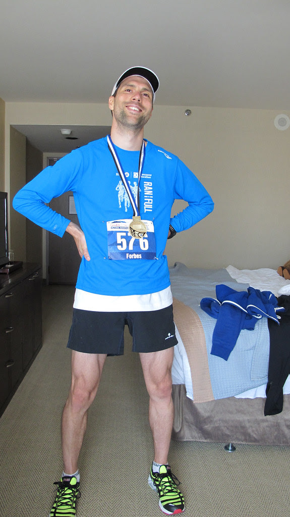 Tim After The Race