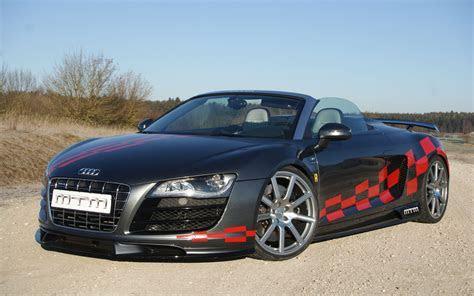 Audi R8 V10 Quattro Spyder MTM Wallpaper   HD Car Wallpapers