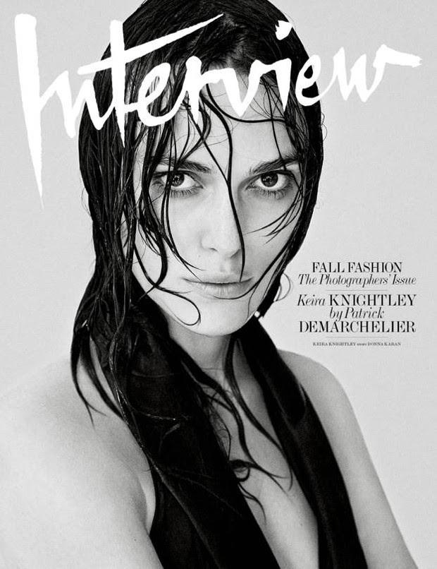 Keira Knightley faz topless para revista Interview - Mundo Nerd Info