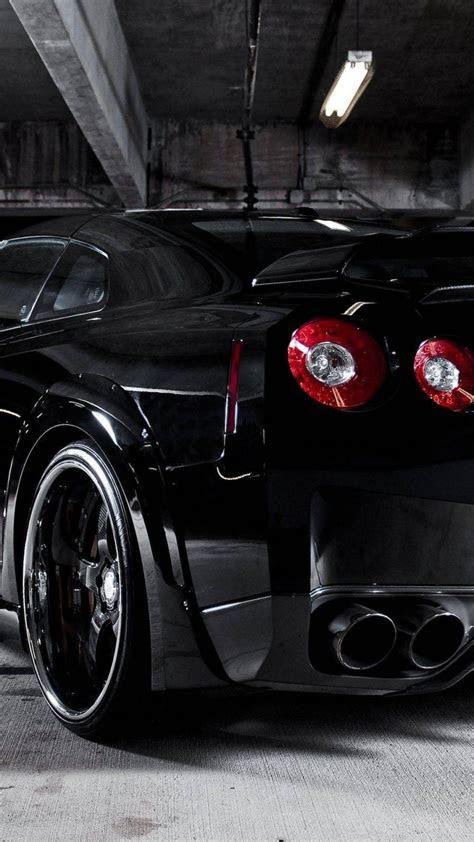 Nissan gtr r35 black cars wallpaper   (53309)