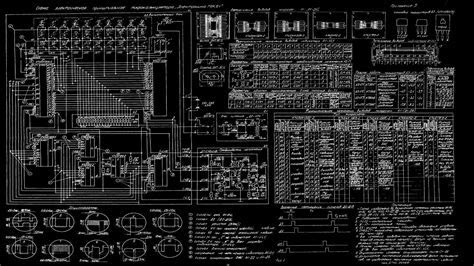 Mk 61 calculator computers digital art motherboards