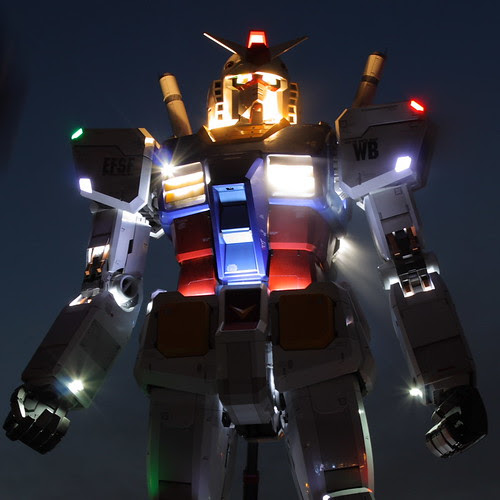 Gundam-At-Night
