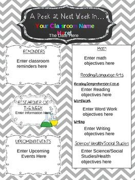 1000+ ideas about Weekly Newsletter Template on Pinterest ...