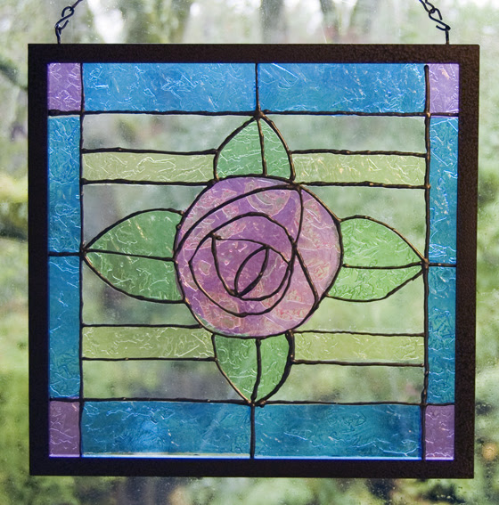 How To Make a Faux Stained Glass Window - Running With Sisters