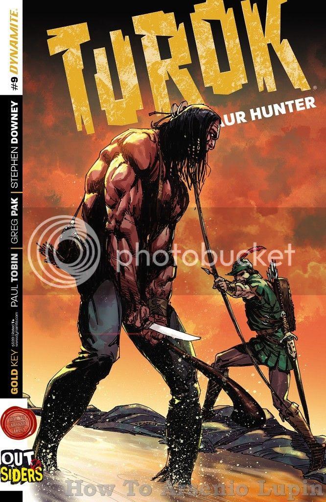 Actualización 23/12/2015: En marco de la alianza con Outsiders, Shinji en la traducción y Rockfull en las maquetas nos traen Turok - Dinosaur Hunter #9.