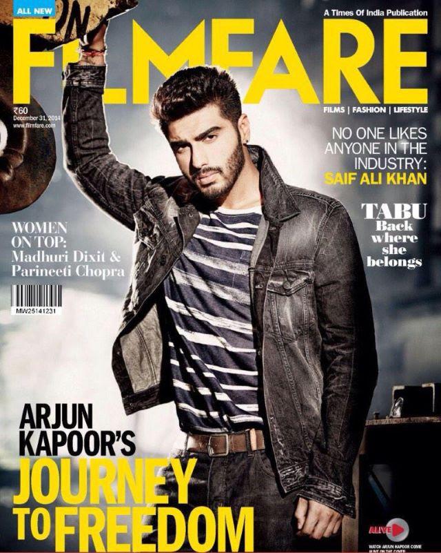 أرجون كابور على غلاف العدد الجديد لشهر ديسمبر من مجلة Filmfare