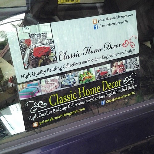 Custome Made Sticker Kereta