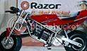 Pocket Rocket Miniature Motorcycle