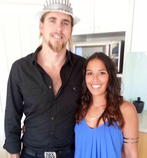 Ben Gerring with fiance Jasmine Boyer