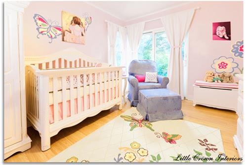 Girl's Butterfly Themed Nursery Design Reveal!