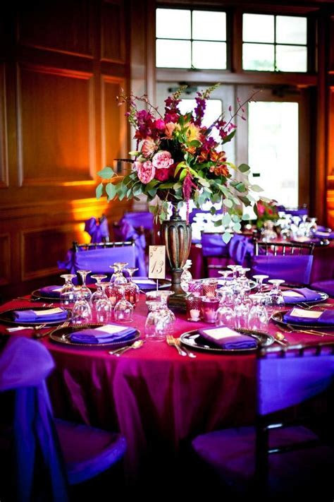 24 Best images about Wedding Receptions Pink & Purple on