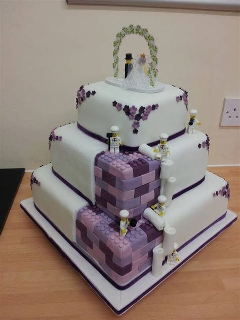Lego wedding cake   idea in 2017   Bella wedding