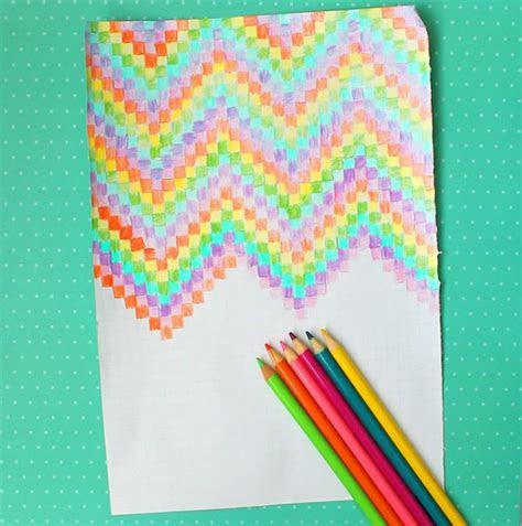 easy graph paper art  kids design dazzle