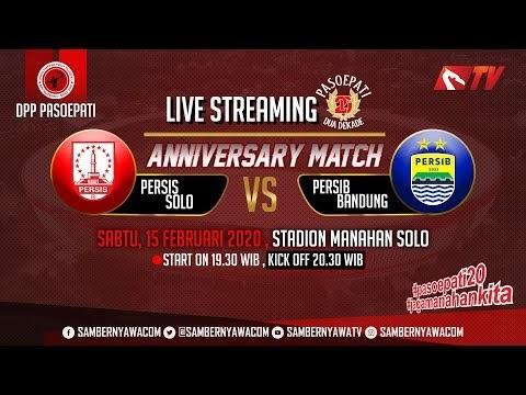 Live Streaming Friendly Match Persib VS Persis Solo Tonton di Sini