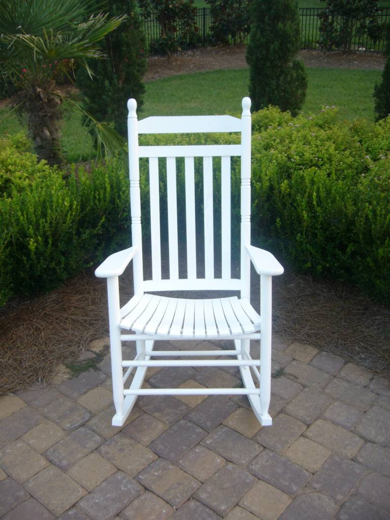Slat Back Rocking Chair 410rta