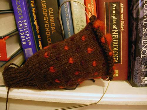 Thrummed mitten kit from Greenwood Hill Farm