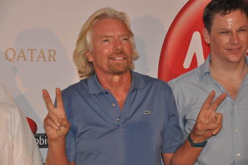 homme d'affaires: Richard Branson