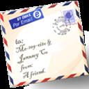 Español: Carta para correo