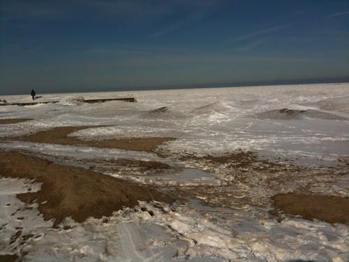 The beach (Lake Michigan)
