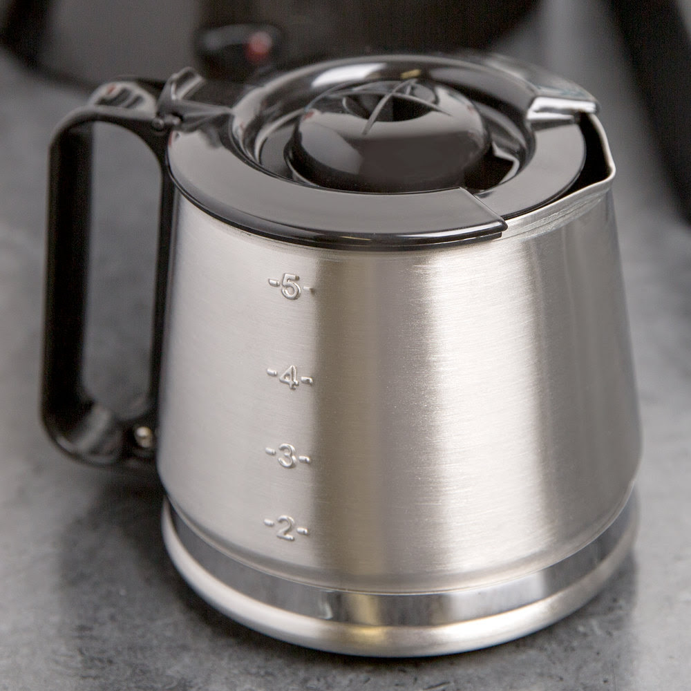 Hamilton Beach 88087C Stainless Steel 4 Cup Replacement Carafe for HDC Series Coffee Makers
