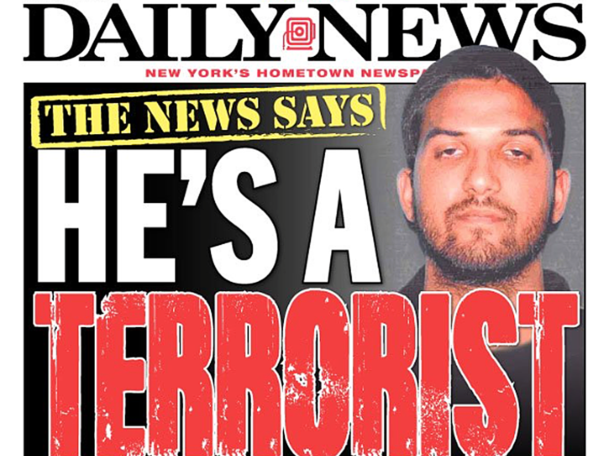 Daily News Friday cover labels mass shooters as terrorists ...