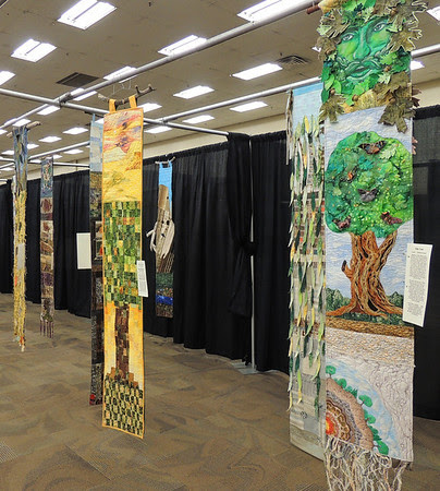 A Fantasy Fiber Forest by Westcliffe Contemporary Quilters and Fiber Artists