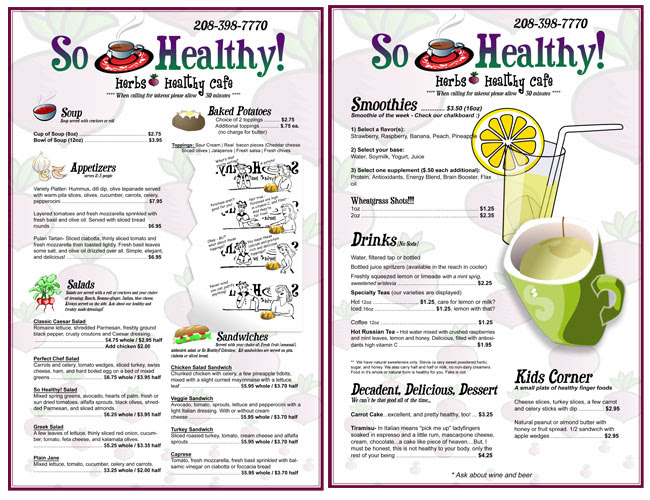 So Healthy! | Implied By Design